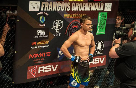 Francois 'Franaconda' Groenwald trains at Bio MechaniX